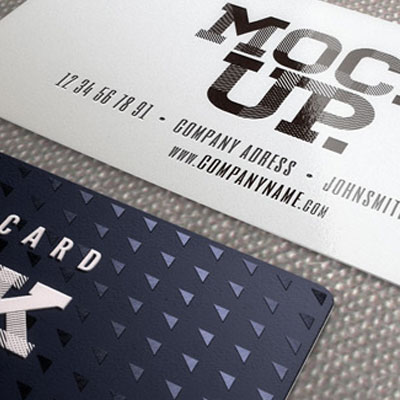 Business Cards w/ Spot UV