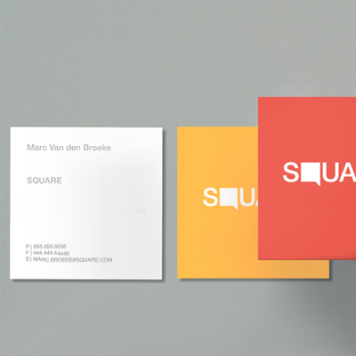 Business Card Square
