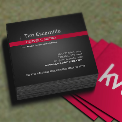 Business Card Squares