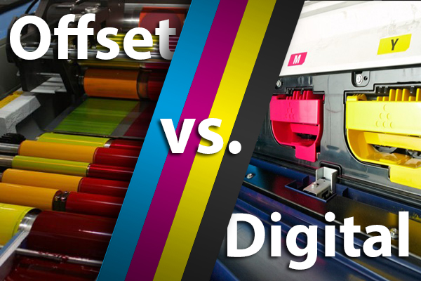 Digital Printing vs. Offset Printing