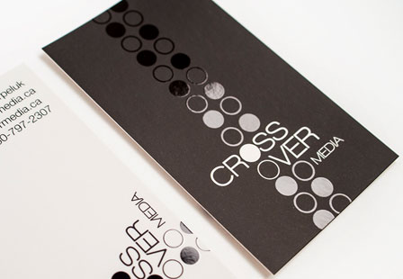 30% Silk Coated Business Cards!